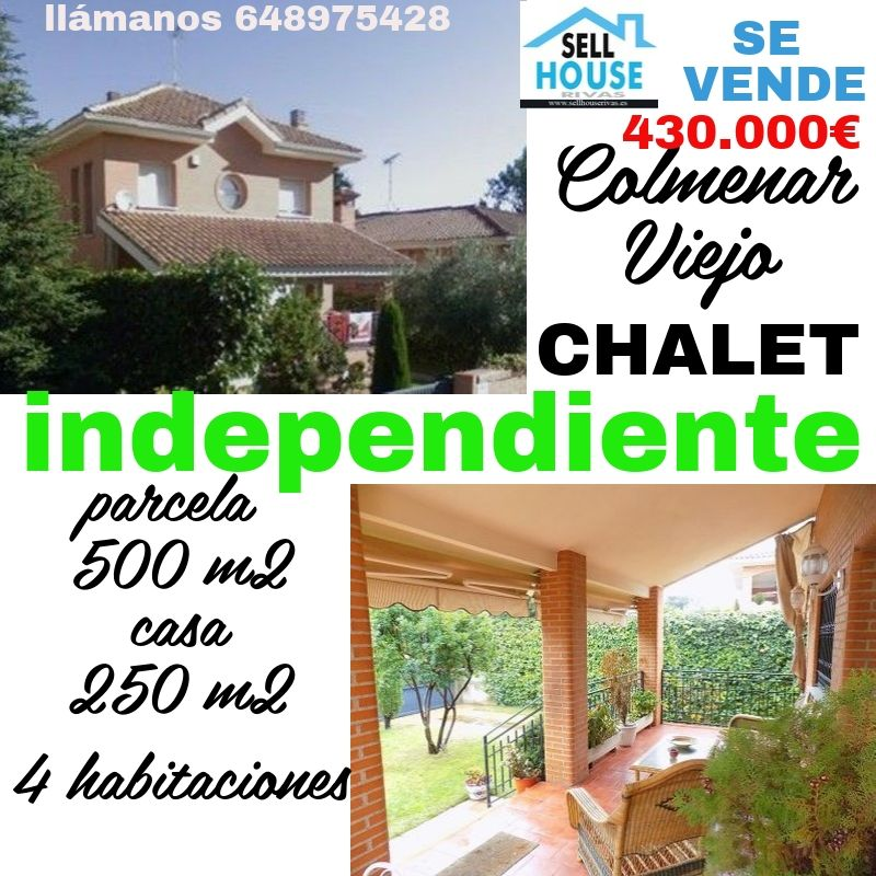 independiente en Colmenar Viejo. SELL HOUSE RIVAS